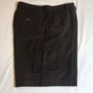 Tommy Bahama silk cargo shorts